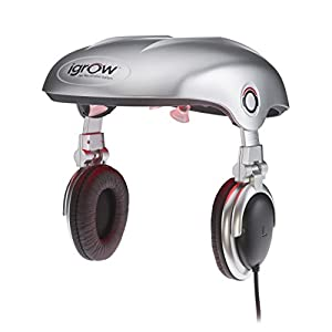 iGrow Hands-Free Laser LED Light Therapy Hair Regrowth Rejuvenation System, 4.3 Pound