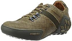 Woodland Mens Khaki Trecking Shoes - 6 UK/India (40 EU)