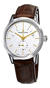 Maurice Lacroix Men's LC7008-SS001130 Les Classiques Silver Power Reserve Indicator Dial Watch by Maurice Lacroix