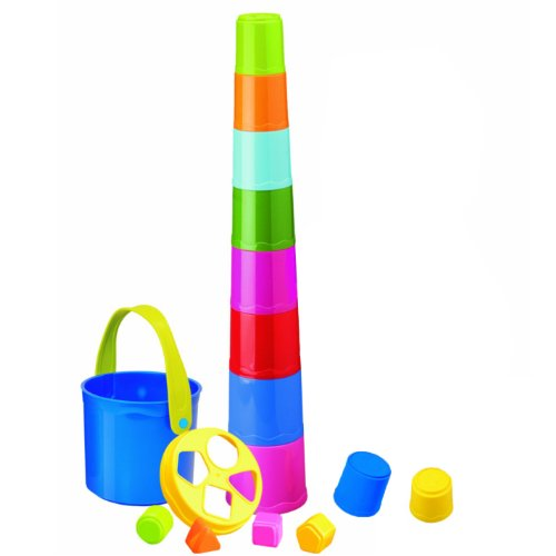 Miniland Giantte Stacking Cups front-240999