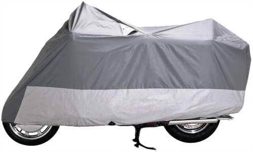 Dowco 50007-00 Guardian Weatherall Gray Sport Motorcycle Cover front-259760