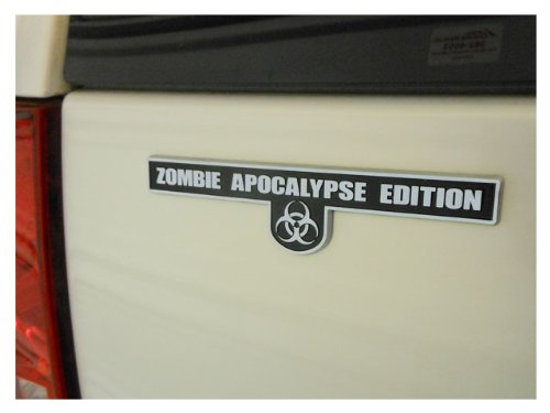 Zombie Apocalypse Edition - Chrome Plated Emblem (Usps Emblem compare prices)