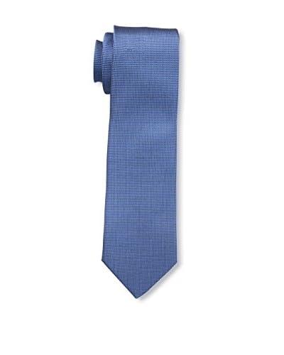 Ermenegildo Zegna Men's Patterned Tie, Blue