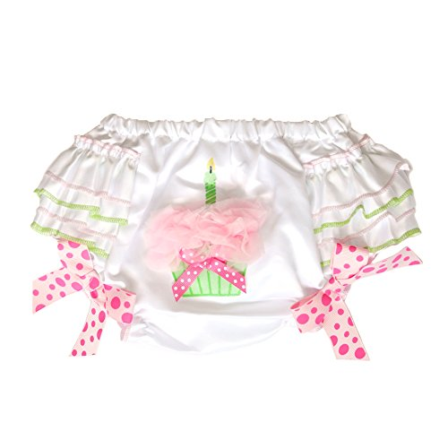 Bearington Baby Her 1St Bday Diaper Cover