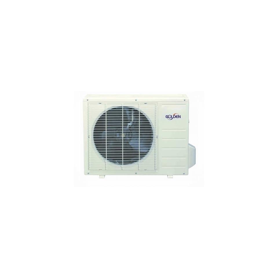 GX12H1 Mini Split Air Conditioner With 12000 BTU Cool 12500 BTU Heat 24V Control Sleep Mode LED