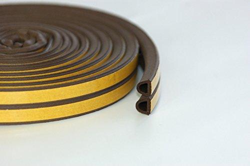 marron-5-m-dun-projet-weatherbar-sills-bourrelet-de-profil-de-caoutchouc-epdm-bande-en-mousse-et-fer
