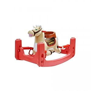 Radio Road Toys Rock and Bounce Pony with Sound and Motion