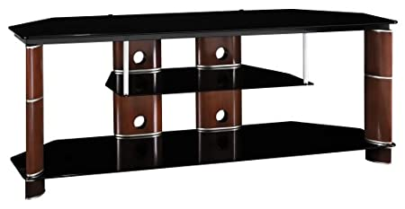 Segments Large Swivel TV Stand