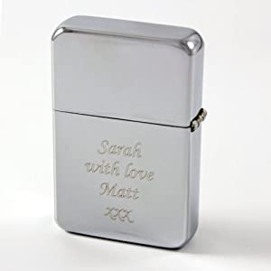 Laser Engraved Diamante Ladies Lighter - Personalised Birthday Present