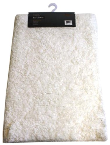 Dandy William Armes Seychelles 80 x 50 cm Bath Mat, White