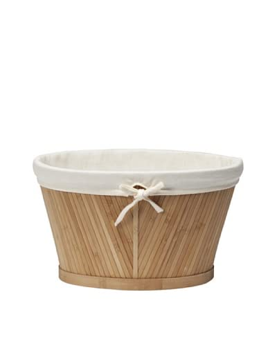 Creative Bath Small Oval Storage Basket, Natural