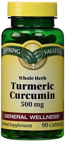 Spring Valley - Turmeric 500 mg, 90 Capsules