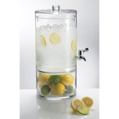 This container juice dispenser is an attractive way to serve your guests their favorite fresh lasourisglobe-trotteuse.tk stainless steel construction design of the beverage dispenser is a great addition to any contem.