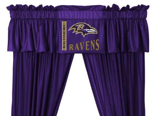 Nfl Baltimore Ravens Valance Picture