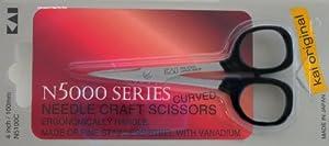 Kai 5100C 4-inch Curved Tip Needlecraft Scissors