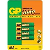1.2V 1000mA AAA Rechargeable Batteriesby GP Batteries