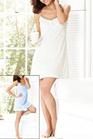 2 Pack - Pure Cotton Assorted Nightdresses [T37-3961-S]