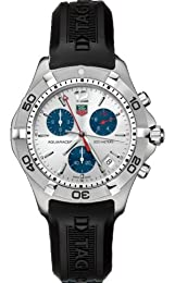 TAG Heuer Men s CAF1111 FT8010 2000 Aquaracer Chronograph Watch