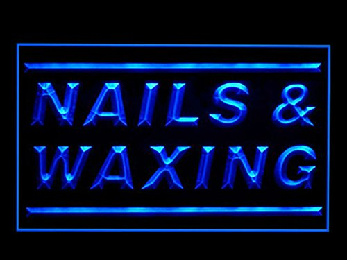 C B Signs Beauty Salon Nails Waxing Led Sign Neon Light Sign Display
