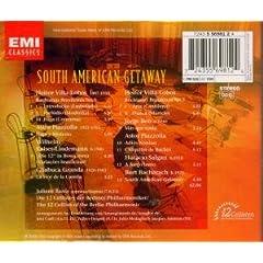 South American Getaway back cover