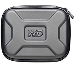 Western Digital Protective Carrying Case for My Passport Portable Hard Drives WDBABL0000NSL-WASN (Black)