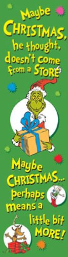Eureka Dr. Seuss Vertical Classroom Banner, The Grinch, 45 x 12 Inches (849601)