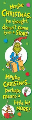 "Eureka Dr. Seuss Vertical Classroom Banner, The Grinch, Measures 45 x 12"""