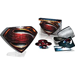 Man of Steel Collector's Edition (Blu-ray 3D + Blu-ray + DVD +UltraViolet Combo Pack)