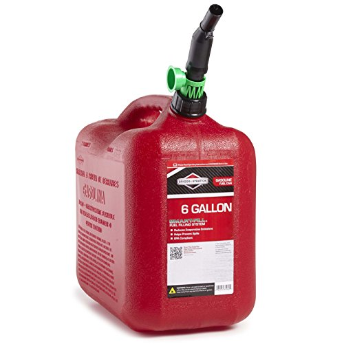 Briggs & Stratton 85060 6-Gallon Auto Shut Off Gas Can (Gas Can For Atv compare prices)