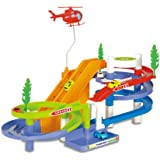 NEW 2014 Track Racer Racing Car Toy Set