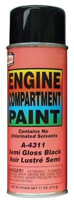 ENGINE PAINT - SEMI-GLOSS BLACK (Semi Radiator Cover compare prices)