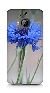 Amez designer printed 3d premium high quality back case cover for HTC One M9+ (Mist Flowers)