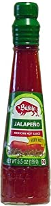 Bufalo Jalapeno Mexican Hot Sauce - 55 Oz Pack Of 3