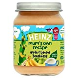 Heinz Mum's Own Recipe Apple & Banana Breakfast 4 Mths+ 128G
