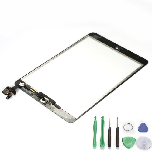 Why Choose White Ipad Mini Touch Digitizer Screen + IC Connector Home Button Flex Assembly