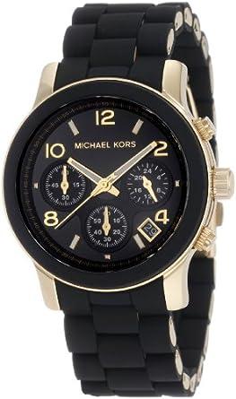 Michael Kors Women's MK5191 Runway Black Watch