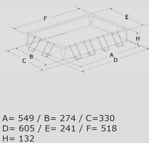 ultra frame pool 549x274x132 kinderpools kinderpools. Black Bedroom Furniture Sets. Home Design Ideas