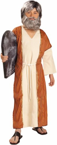 Child's Moses Biblical Costume (Size: Large 12-14)