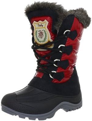 San Bernardo 80-Rina-rot, Mädchen Stiefel, Rot (rot), EU 27