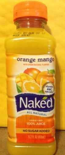 Naked Orange Mango Smoothie 15.2 Fl Oz - 5 Pack - front-1063195
