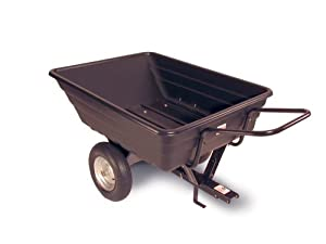 Precision Products 12-Cubic Foot Convertible Trailer Dump Cart LCP97PP (Discontinued by Manufacturer)
