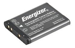 Energizer ENB-NEL19 Digital Replacement Battery EN-EL19 for Nikon S100 S3100 3200 3300 4100 4200 4300 5200 6400 and 6500 (Black)