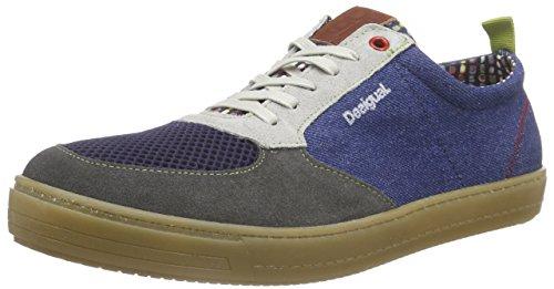 DesigualSHOES_MANOLOA 1 - Sneakers, Uomo, Grigio (Grau (5000 NAVY)), 42