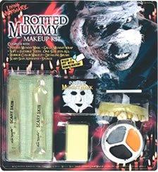 Fun-World-Scary-Gross-Mummy-Halloween-Costume-Makeup-Teeth-Kit