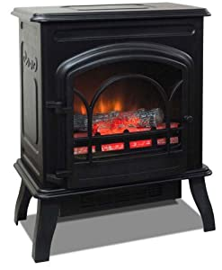 Electric Fireplace Countryside Ventless Fireplace Electric Stove NEW By Quality Craft