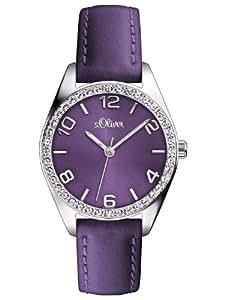 s.Oliver Damen-Armbanduhr XS Analog Quarz SO-2772-LQ