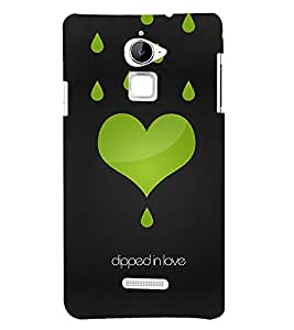 Dipped In Love 3D Hard Polycarbonate Designer Back Case Cover for Coolpad Note 3 Lite :: Coolpad Note 3 Lite Dual SIM