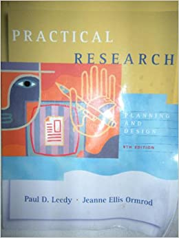 Practical Research Planning And Design P D Leedy J E Ormrod Books