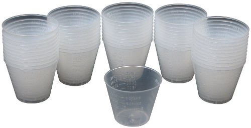 Great Planes Epoxy Mixing Cups (50-Piece)