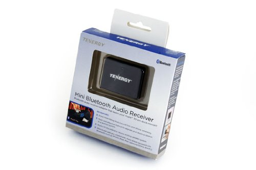 Tenergy Mini Bluetooth Audio Receiver (Apple Dock 30-Pin Connector To Bluetooth Adapter)